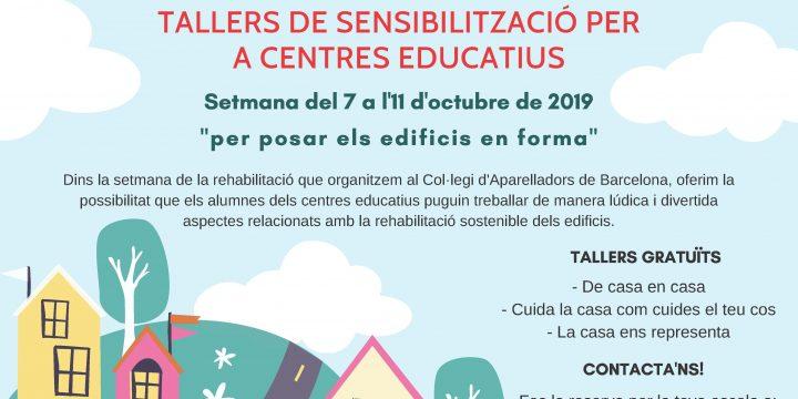 7-11 Octubre 2019: Setmana de la Rehabilitació